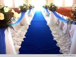 church wedding decorations blue church wedding decorations 99 wedding ideas