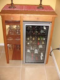 Mini Fridge Bar Cabinet Midcentury Retro Style Modern Mini Fridge Bar Cabinet