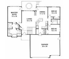 Large Ranch Floor Plans House Plans From 1400 To 1500 Square Feet Page 1