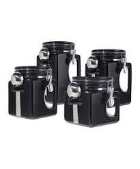 black ceramic kitchen canisters tag black white kitchen ceramic storage canisters jars set tea