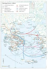 Marian University Map Dark Age Greece Map Ancient History Pinterest Dark Ages