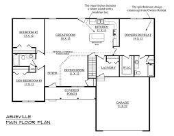 single story floor plans with open floor plan single story house plans and this one story open floor plans luxamcc