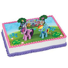 my pony birthday cake ideas my pony it s a pony party cake decorating set