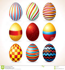 easter eggs vector clip art royalty free stock photography