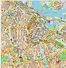 Amsterdam Metro Map by Amsterdam Cruise Port Guide Cruiseportwiki Com