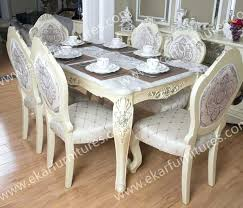 White Dining Room Table And 6 Chairs Italian Style Dining Table U2013 Ceilinglight Co
