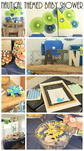 nautical themed baby shower the country chic cottage