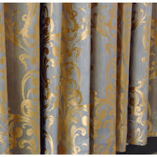 Brown Floral Curtains Luxurious Well Made Brown Floral Printed Blackout Curtains Buy