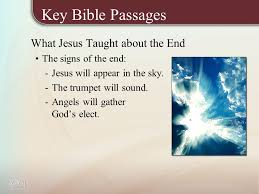 four views of the end times key bible passages what jesus taught