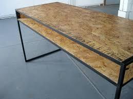 osb desk products i love pinterest desks osb wood and raw