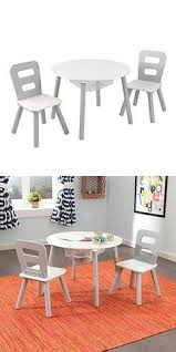 kidkraft round table and 2 chair set play tables and chairs 66743 kidkraft compatible 2 in 1