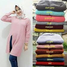slit sweater jual slit sweater secker di lapak misha nintarosani
