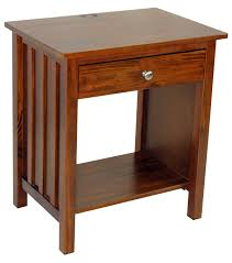 Arts And Crafts Nightstand Yu Shan Vanderbilt Night Stand With Usb Port Beyond Stores