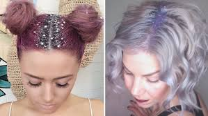 glitter roots hair trend is taking over the internet today com