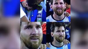 Messi Meme - crying game messi meme erupts online after soccer star s copa
