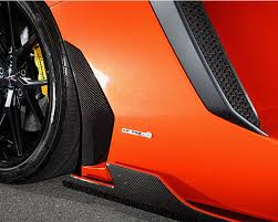 leap design ld aventador sideduct leap design carbon fiber side duct cover
