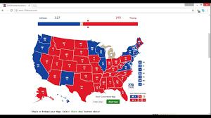 2016 Senate Election Map by 2016 Electoral Map Prediction Trump Vs Clinton 9 27 6 Weeks