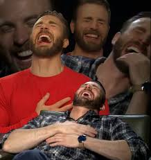 Meme Chris - laughing chris evans problematic fave know your meme