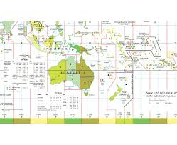Time Zone Map by Maps Of Oceania And Oceanian Countries Political Maps Road And