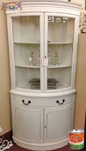 how to arrange a corner china cabinet white corner china cabinet ideas on foter