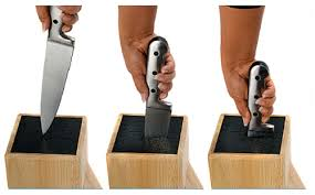 gadgets the universal hold all your knives and utensils block by
