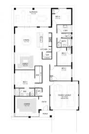 4 bedroom floor plan 2 story house plans with garage luxury one