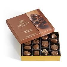Halloween Chocolate Gifts 15 Pc Milk Chocolate Gift Box Godiva
