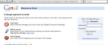 Gmail Login Mail Tapeze