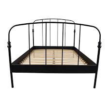 Steel Bed Frame For Sale 62 Ikea Ikea Svelvik Size Black Bed Frame Beds