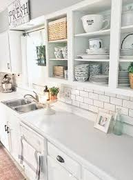 remove kitchen cabinet doors for open shelving how to remodel your kitchen without renovating kitchen