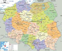 Map Of Europe Political by Maps Of Poland Detailed Map Of Poland In English Tourist Map
