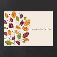 modern change contemporary personalized thanksgiving cards http