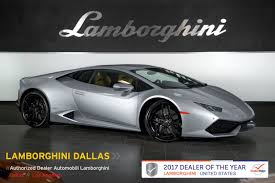 grey lamborghini huracan used 2016 lamborghini huracan lp610 4 for sale richardson tx