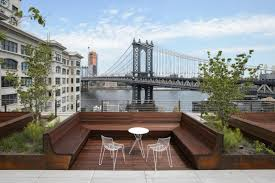 why office workers love their roof decks so much the bridge