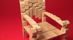 how to make a stylish mini clothespins chair diy crafts tutorial
