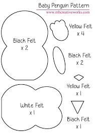 best 25 felt penguin ideas on felt crafts penguin