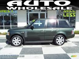 land rover 2007 2007 land rover range rover hse in tonga green pearl 257948