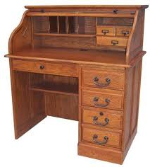Small Roll Top Desk For Sale Jeff S Oak Furniture Office Furniture Intended For Small Roll Top