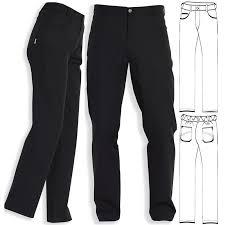 pantalon cuisine noir pantalon noir mixte coupe jean polyester coton noir