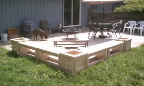 Diy Patio Bench by Fabulous Patio Bench Plans Diy Porch Jack Sander Deck Newest