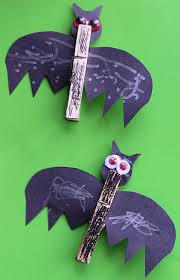 Halloween Crafts For Classroom - easy bat craft halloween parties bats and clothes