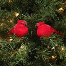 cardinal ornaments wayfair