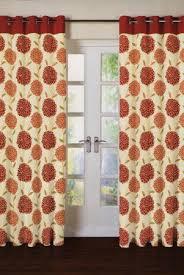 Red Orange Curtains Charlotte Burnt Orange Eyelet Curtains Harry Corry Limited