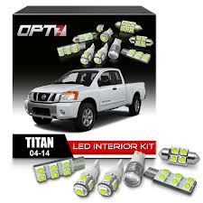 nissan titan air filter amazon com opt7 16pc interior led replacement light bulbs package