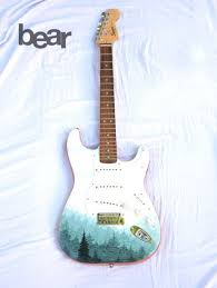 best 25 painted guitars ideas on pinterest guitar art guitar
