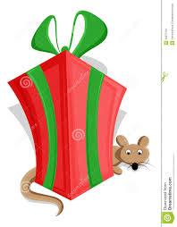 cute christmas gift box vector stock image image 30373191
