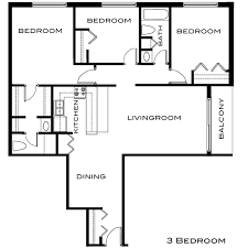 architecture plans of 3bedroom flat home design ideas