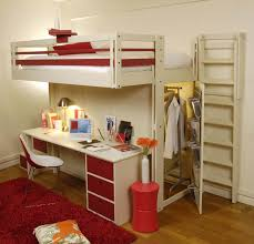 chambre loggia lit mezzanine attic espace loggia