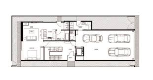 Rectangle House Floor Plans Gallery Of Zig Zag House Dan Brunn Architecture 15