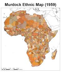 Labeled Africa Map by Anyone Have A Map Of Ethnic Groups In Africa Alternate History